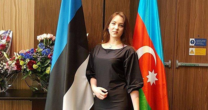 Эстонская школьница Ирина Ковзанович