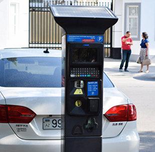 Паркомат в Баку, фото из архива