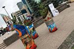 Азербайджанские художники на международном фестивале в Казахстане