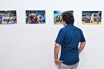 Открытие выставки IV Игры исламской солидарности глазами азербайджанских фотографов