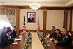 Министру обороны Азербайджана представлен новый военный атташе США