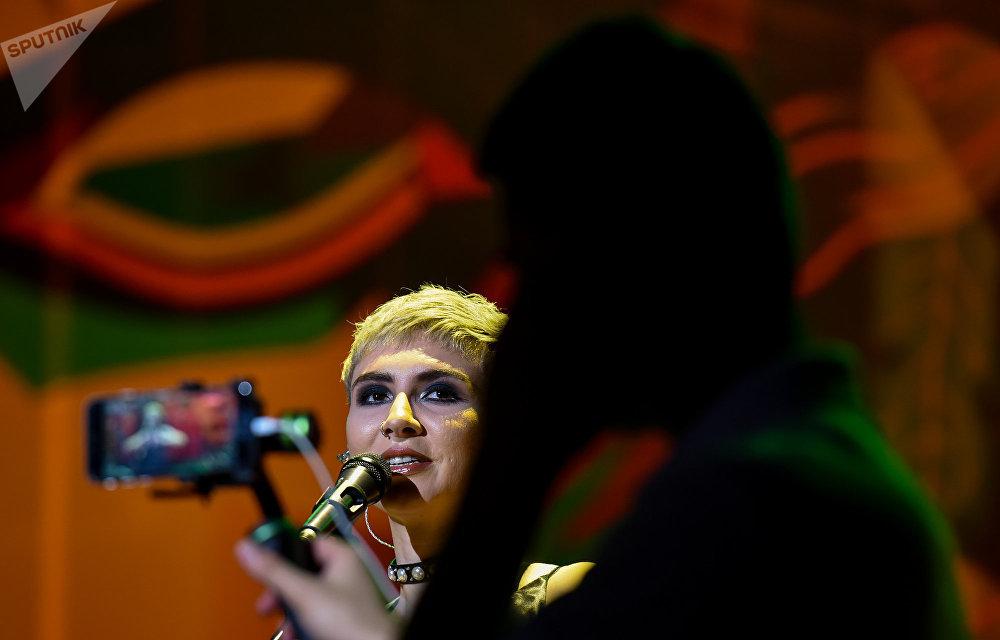 Концерт Дианы Гаджиевой и группы Dihaj в Зеленом театре