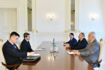 Президент Ильхам Алиев принял заместителя председателя Кабинета Министров Туркменистана