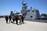 Министр обороны проверил уровень боеготовности личного состава в Учебно-тренировочном комплексе ВМС