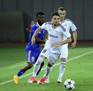 Ответный матч между азербайджанским футбольным клубом Карабах и грузинским Самтредиа