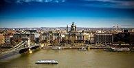 Цепной мост в Будапеште, фото из архива