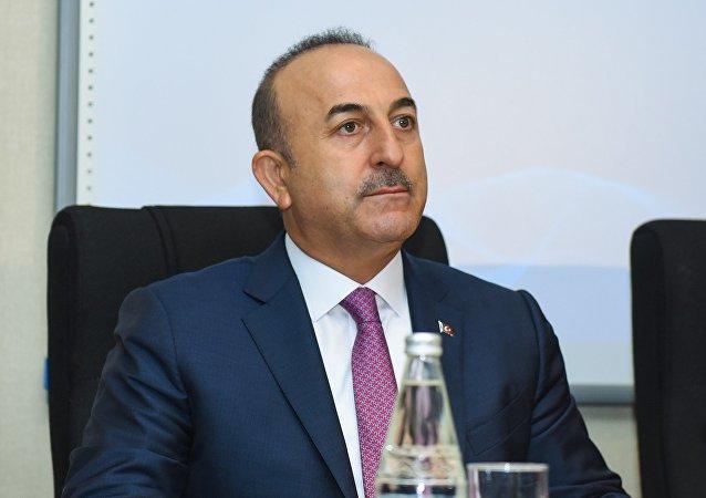 Türkiyə xarici işlər naziri Mövlud Çavuşoğlu