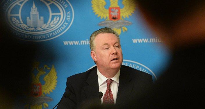 фициальный представитель министерства иностранных дел Российской Федерации Александр Лукашевич