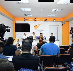 Пресс-конференция Сегодняшний день и перспективы трансплантологии в Азербайджане
