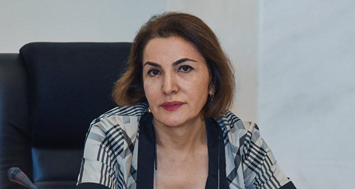 Milli Televiziya və Radio Şurasının üzvü Sona Vəliyeva