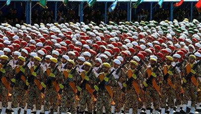 Иранские солдаты, фото из архива