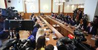Министр иностранных дел С.В.Лавров встретился с участниками IV Форума молодых дипломатов, Москва, 20 июля 2017 года
