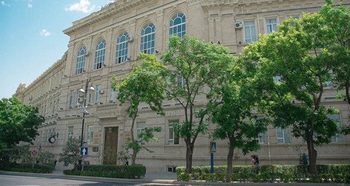 Azərbaycan Dövlət İqtisad Universitetinin binası