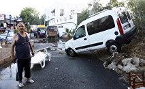 Последствия землетрясения в Бодруме, Турция, 21 июля 2017 года
