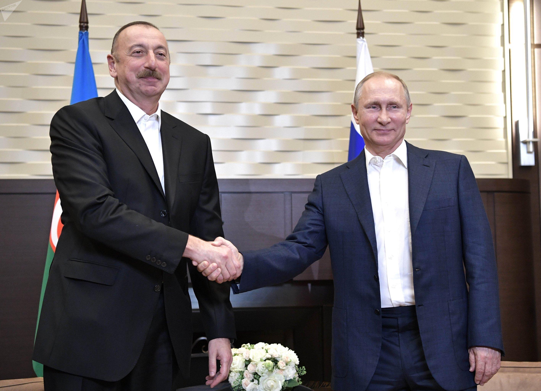 Президенты Российской Федерации иАзербайджана обсудили широкий круг вопросов