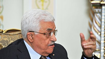 Президент Палестины Махмуд Аббас, фото из архива