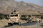 Военная техника США на территории Афганистана, фото из архива