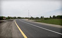 Участок Мингячевир-станция Мингячевир автодороги Мингячевир-Бахрамтепе, фото из архива