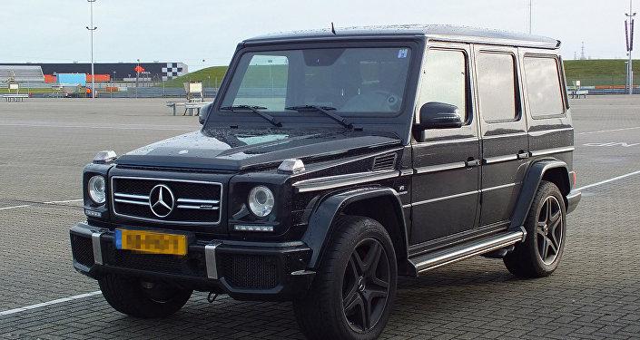 Mercedes Benz-Gelandewagen, фото из архива