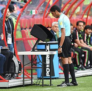 Система видеосудейства Video Assistant Referee, фото из архива
