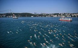 29-й ежегодный межконтинентальный заплыв через пролив Босфор