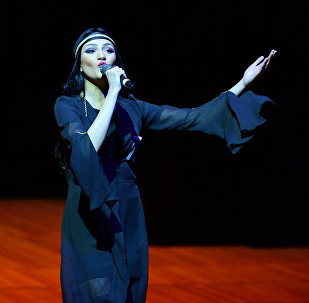 Победительница конкурса Мисс Тбилиси, грузинская модель и актриса азербайджанского происхождении Айсель Мамедова