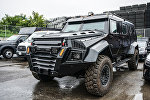 Бронемашина канадской компании INKAS Armored Vehicle Manufacturing