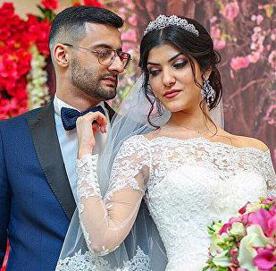 Армянский блогер Тамаз Авдалян со своей супругой