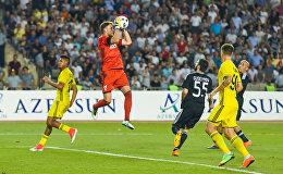 Матч третьего квалификационного раунда Лиги чемпионов между Карабахом и молдавским Шерифом