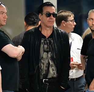 Солист группы Rammstein Тилль Линдеманн