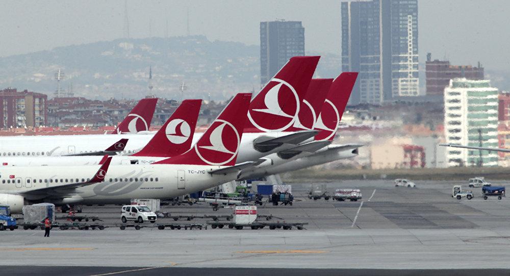 Два самолета столкнулись навзлетно-посадочной полосе вСтамбуле