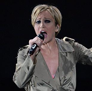 Французская певица Патрисия Каас