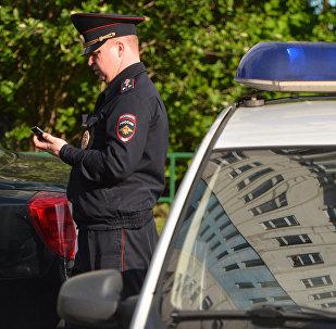 Сотрудник полиции, фото из архива