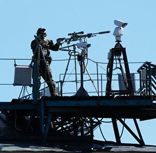 Снайпер, фото из архива