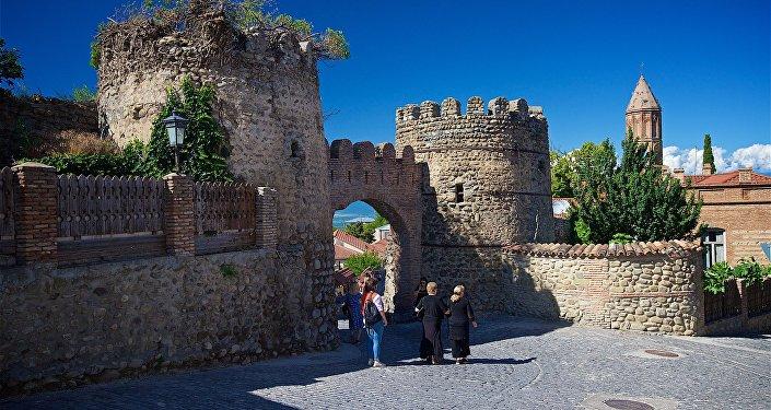 Крепостные ворота в Сигнахи, фото из архива