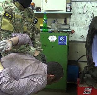 Задержание подозреваемых в подготовке терактов в Петербурге