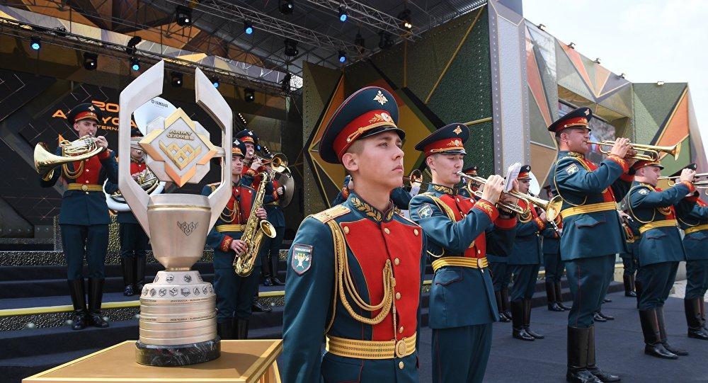 Церемония открытия Армейских международных игр АрМИ-2017 в Московской области