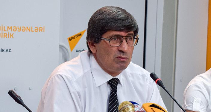 Выступление руководителя ИА Sputnik Азербайджан Азиза Алиева
