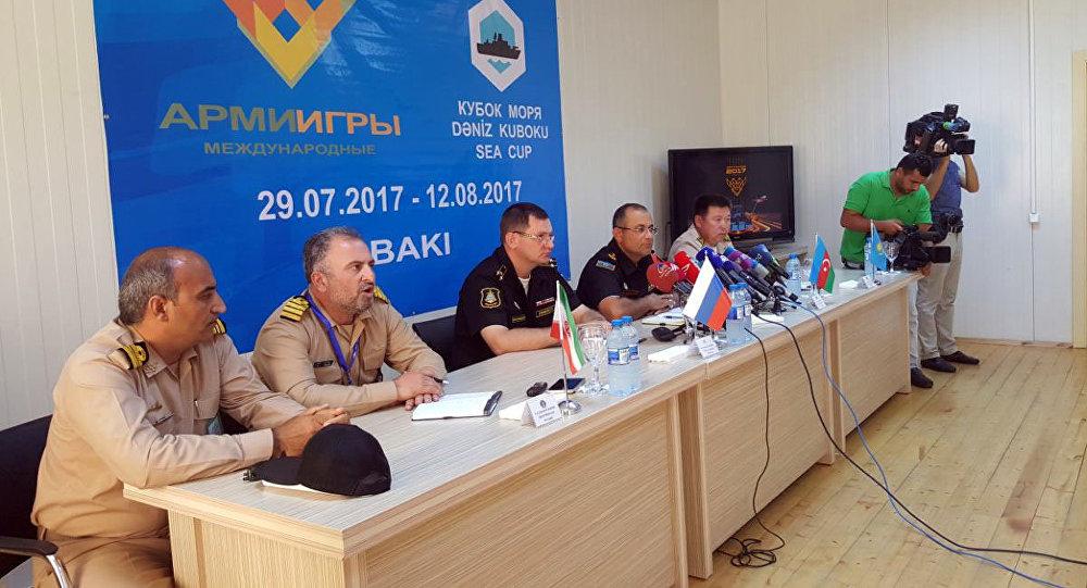 НаКаспии участники конкурса «Кубок моря-2017» готовятся кзаключительному этапу состязаний