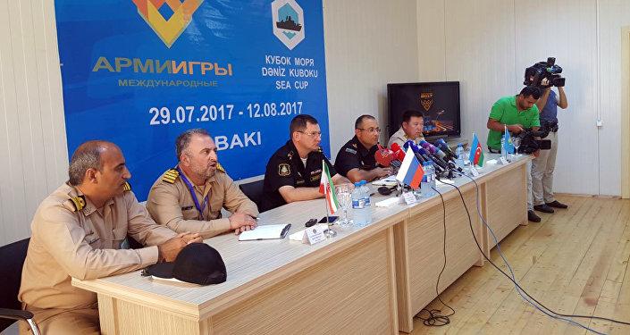 На «Кубке моря -2017» организованы волейбольные состязания