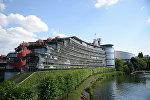 Здание Европейского суда по правам человека, фото из архива