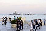В Баку состоялась торжественная церемония открытия Международных соревнований Кубок моря-2017