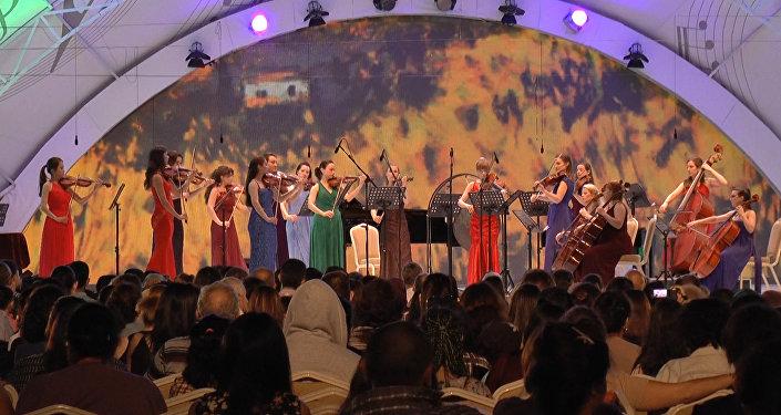 Габала в летнюю ночь: FeMusa сыграл для искушенной публики