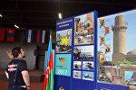 Павильон Азербайджана на выставке образцов культуры стран-участниц Армейских международных игр — 2017