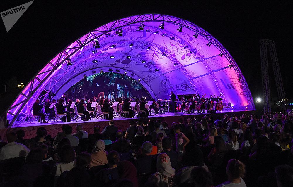 Üzeyir Hacıbəyov adına Azərbaycan Dövlət Simfonik orkestrnin konserti