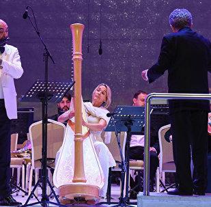 Концерт Азербайджанского государственного симфонического оркестра в рамках IX Габалинского международного музыкального фестиваля
