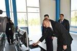Prezident İlham Əliyev Balakən Su Elektrik Stansiyasının açılışında iştirak edib