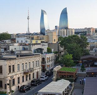 Вид на Flame Towers в Баку, фото из архива