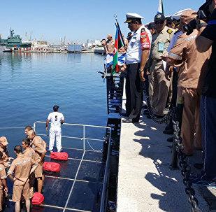 Состязание по использованию спасательных средств второго этапа конкурса Кубок моря - 2017