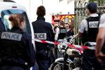 Fransız polisi hadisə yerində